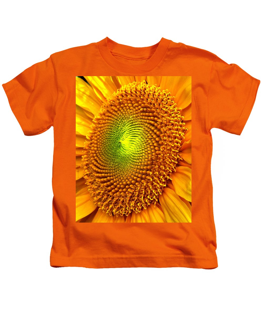 Sun Kids T-Shirt featuring the photograph Sun Burst by Ian MacDonald