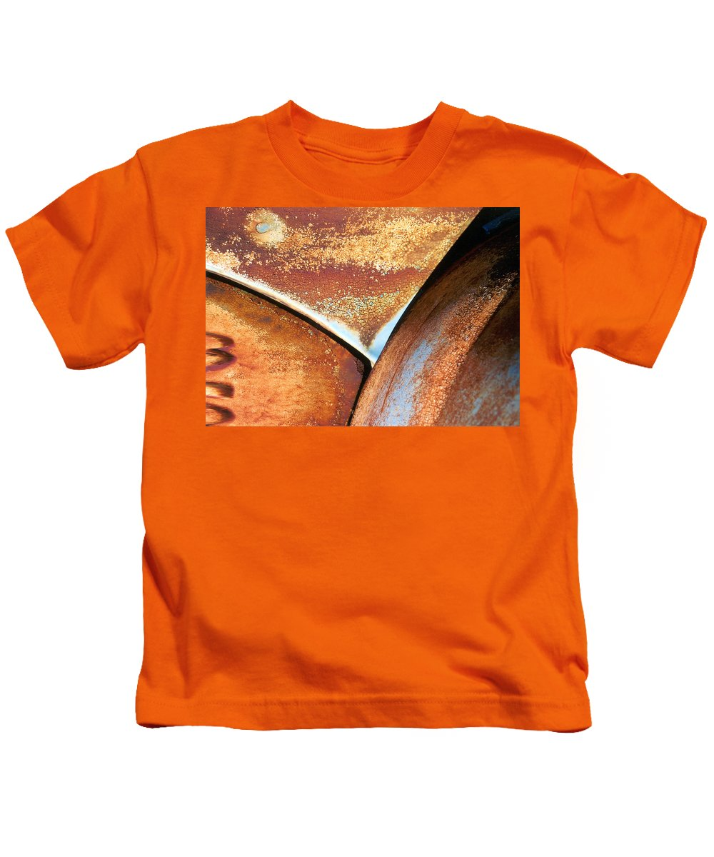 Abstract Kids T-Shirt featuring the photograph The Feminine Mystique by Steve Karol