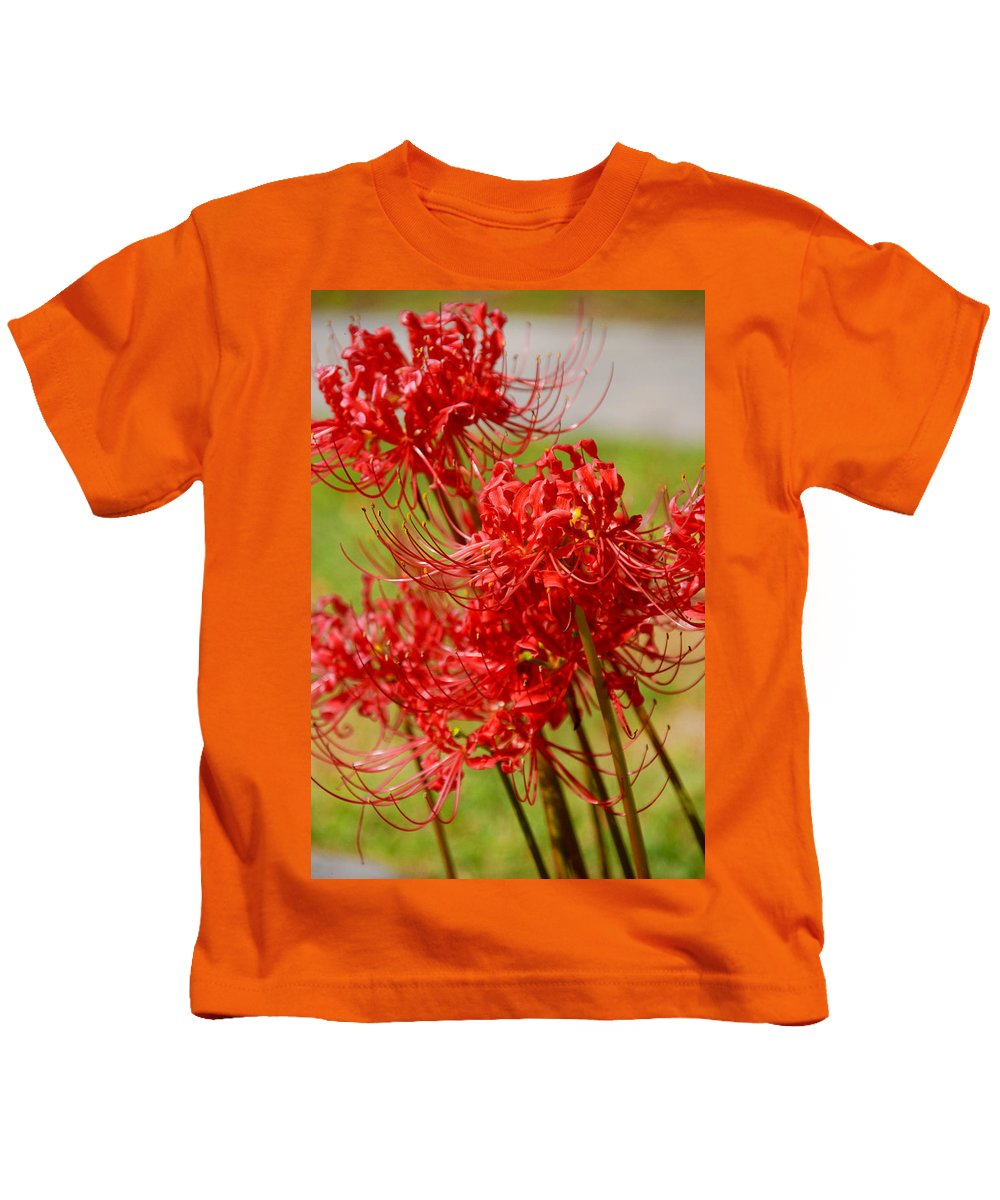 Photography Kids T-Shirt featuring the photograph The Virgins by Susanne Van Hulst