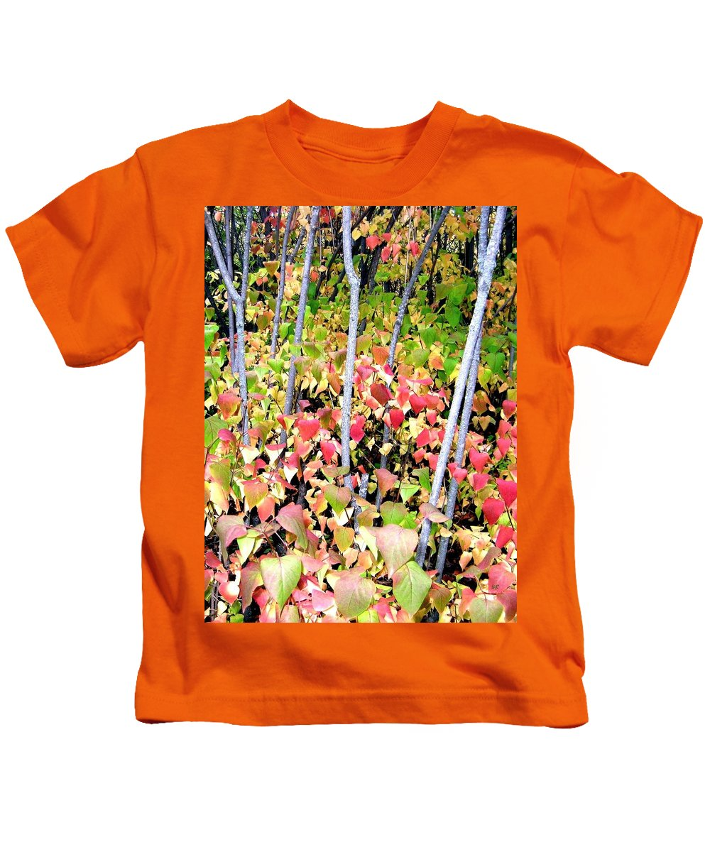 Autumn Kids T-Shirt featuring the photograph Tranquil Days Of Autumn by Will Borden