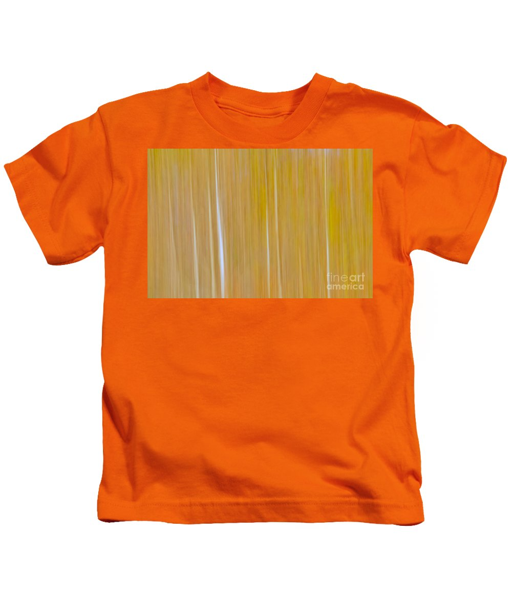 Trees Kids T-Shirt featuring the photograph Trees awakening by Gaby Swanson