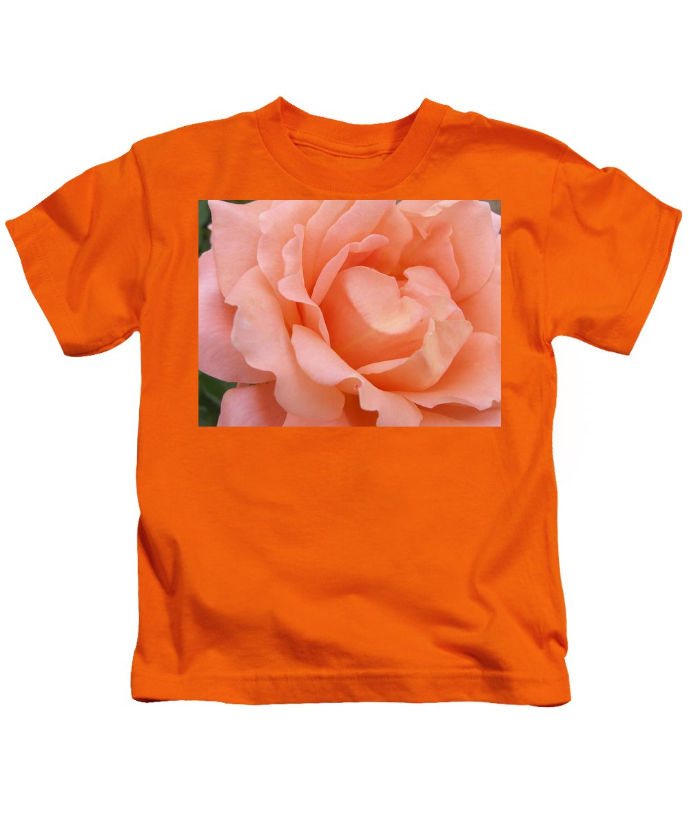 Rose Kids T-Shirt featuring the photograph Vivacious by Larry Lacy