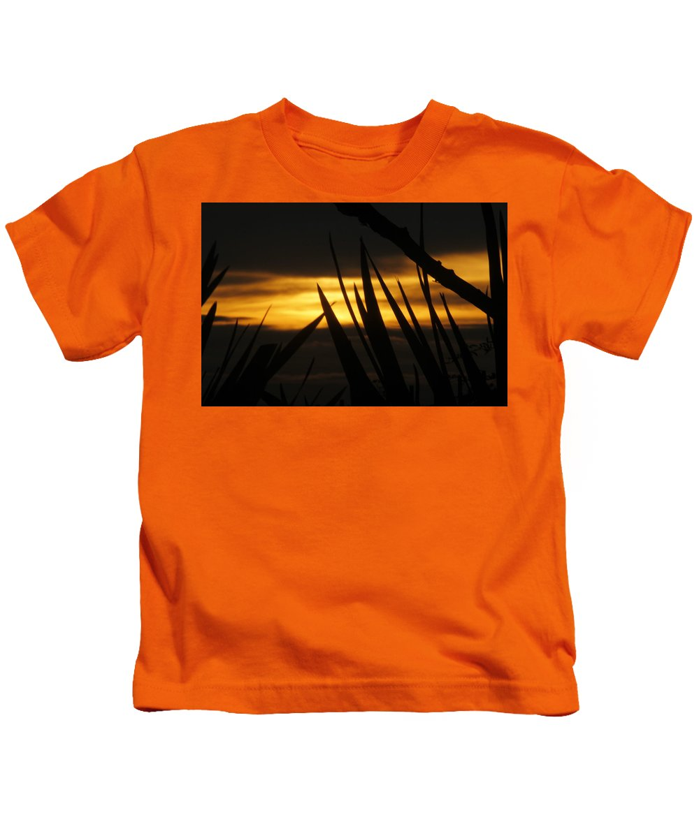 Sunset Kids T-Shirt featuring the photograph Watch More Sunsets by Pauline Darrow