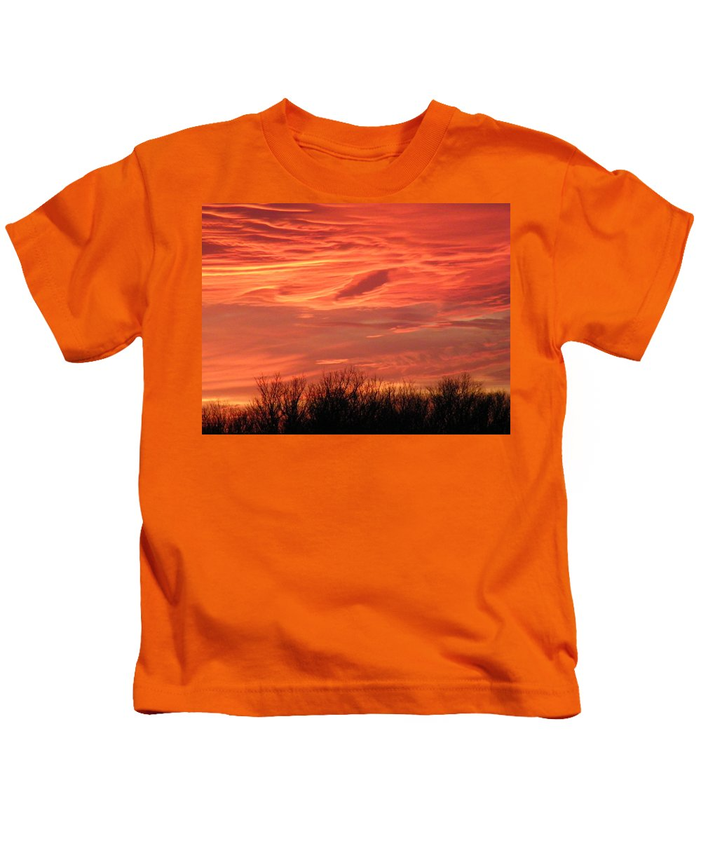 Sunset Kids T-Shirt featuring the photograph Who Needs Jupiter by Gale Cochran-Smith