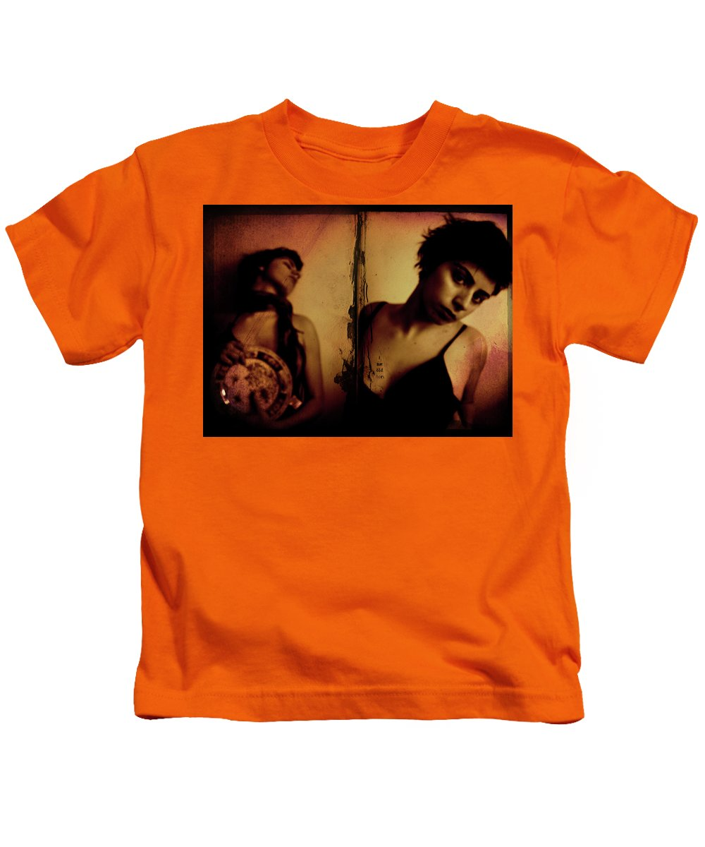 Woman Kids T-Shirt featuring the photograph Why Try To Change Me Now by Pelin Pir