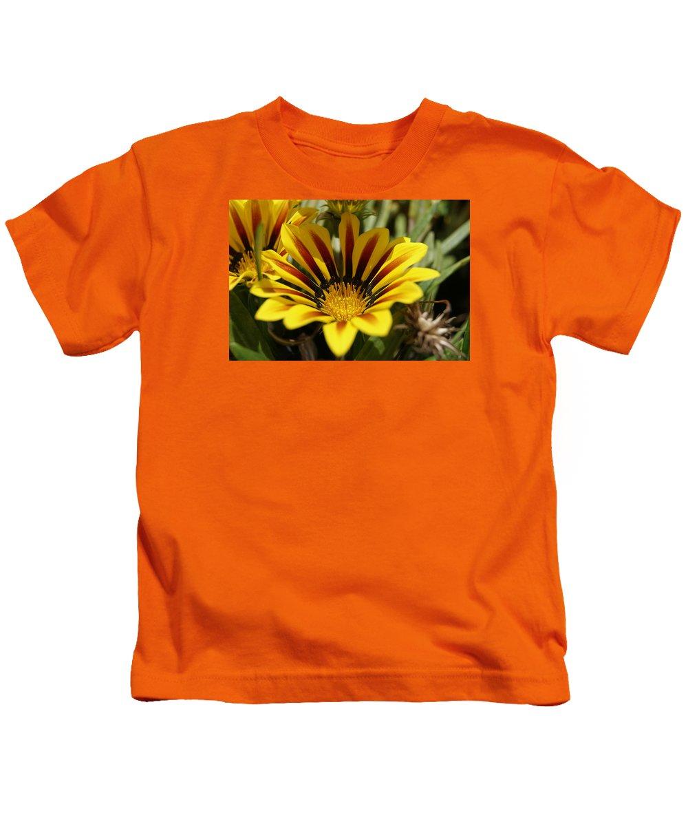 Flower Kids T-Shirt featuring the photograph Yellow Flower by Bastian Brisch