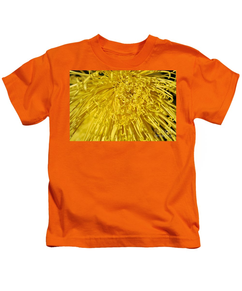 Clay Kids T-Shirt featuring the photograph Yellow Strings by Clayton Bruster