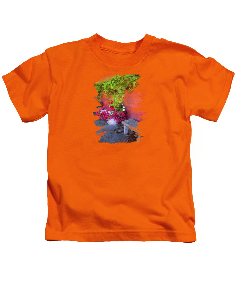 Porches Photographs Kids T-Shirts