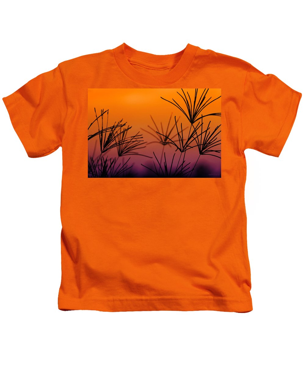 Nature Kids T-Shirt featuring the photograph I Love a Sunburnt Country by Holly Kempe