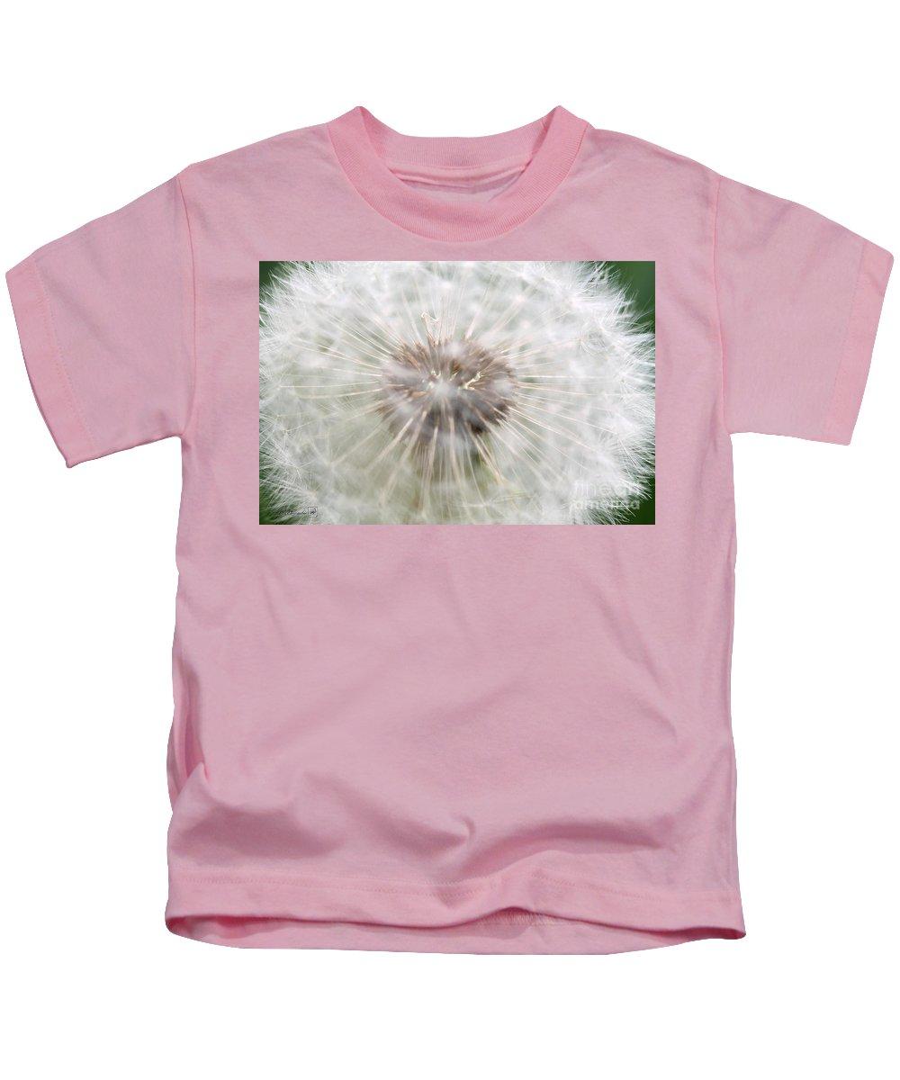 Mccombie Kids T-Shirt featuring the photograph Dandelion by J McCombie