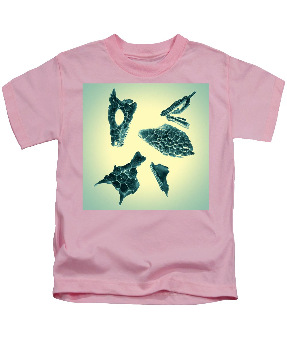 Scan Kids T-Shirt featuring the photograph Archaeopteryx by Wayne Sherriff