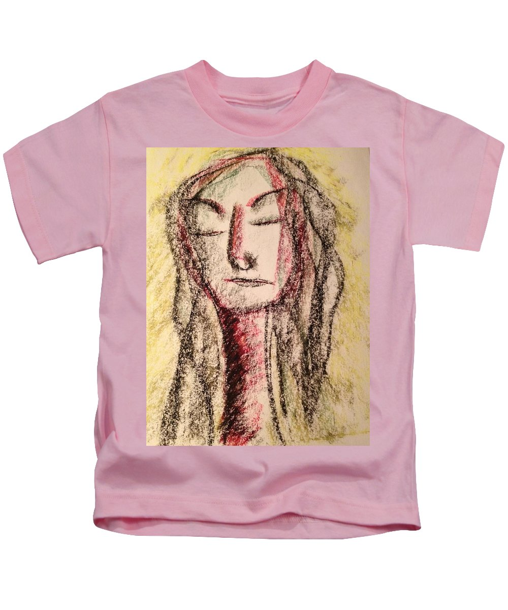 Woman Kids T-Shirt featuring the photograph Art Therapy 156 by Michele Monk