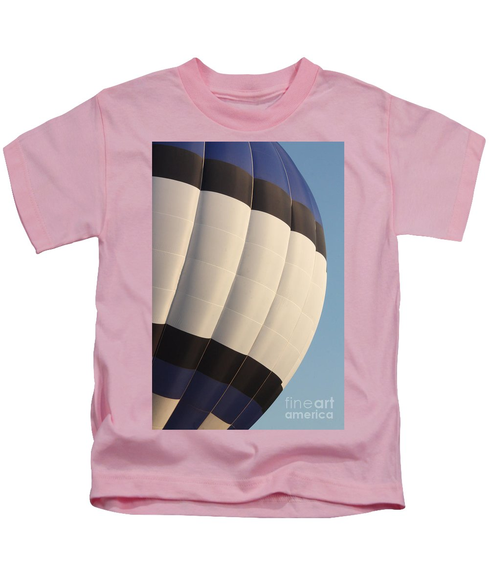 Hot Air Balloon Kids T-Shirt featuring the photograph Balloon-bwb-7378 by Gary Gingrich Galleries