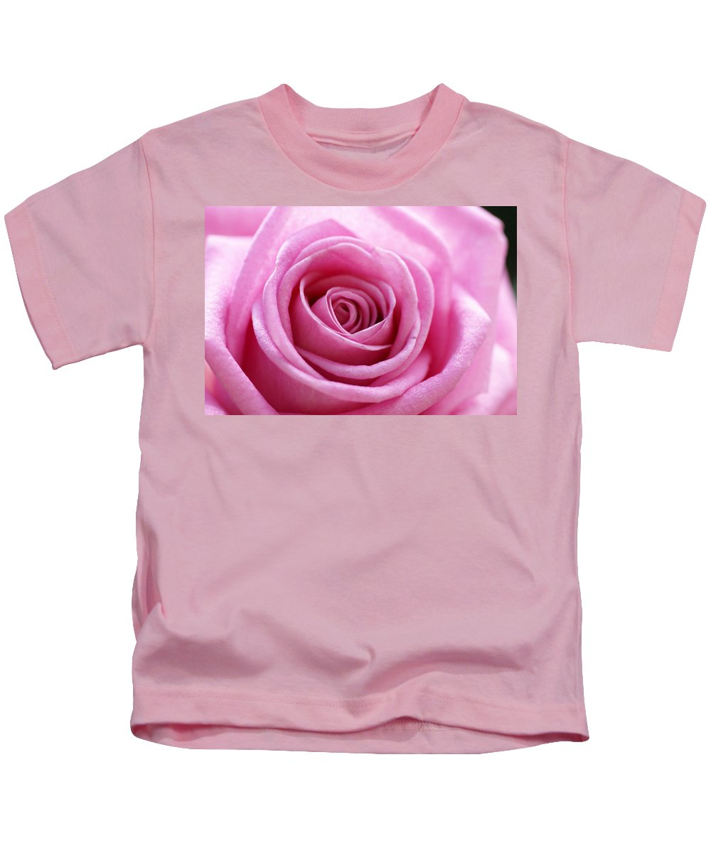Pink Kids T-Shirt featuring the photograph Birthday Pink by Carol Lynch