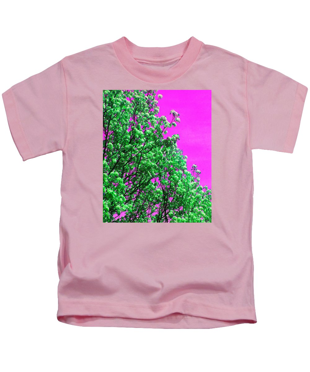 Landscape Kids T-Shirt featuring the photograph Blossom by Theresa Cummings