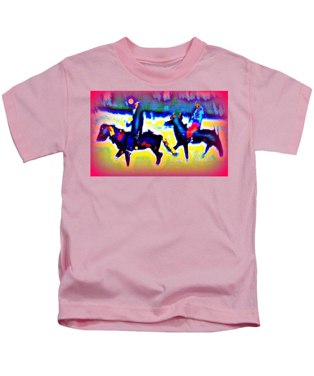 Ride Kids T-Shirt featuring the photograph Remembering The Most Colorful Ride by Hilde Widerberg