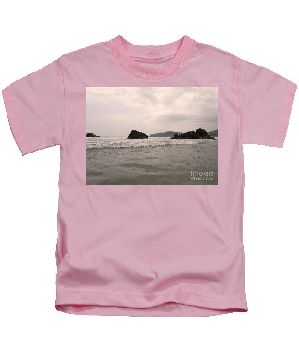 Costa Rica Kids T-Shirt featuring the photograph Costa Rica Coast by DejaVu Designs