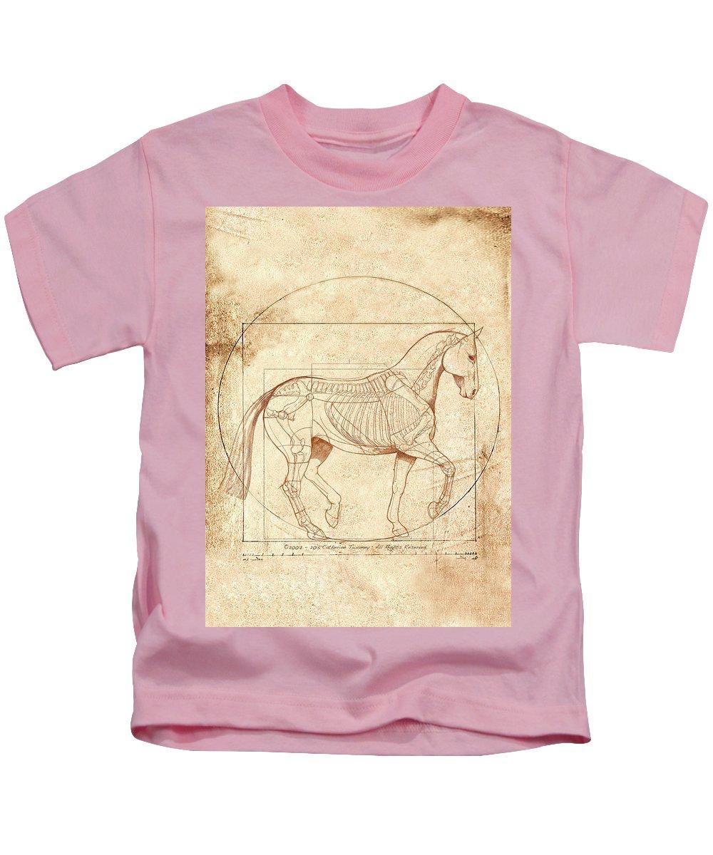 Horse Anatomy Kids T Shirts Fine Art America