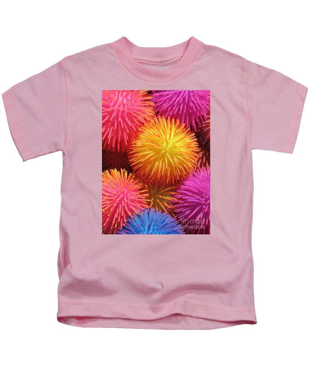 Abstract Kids T-Shirt featuring the photograph Dazzlers by Ann Horn