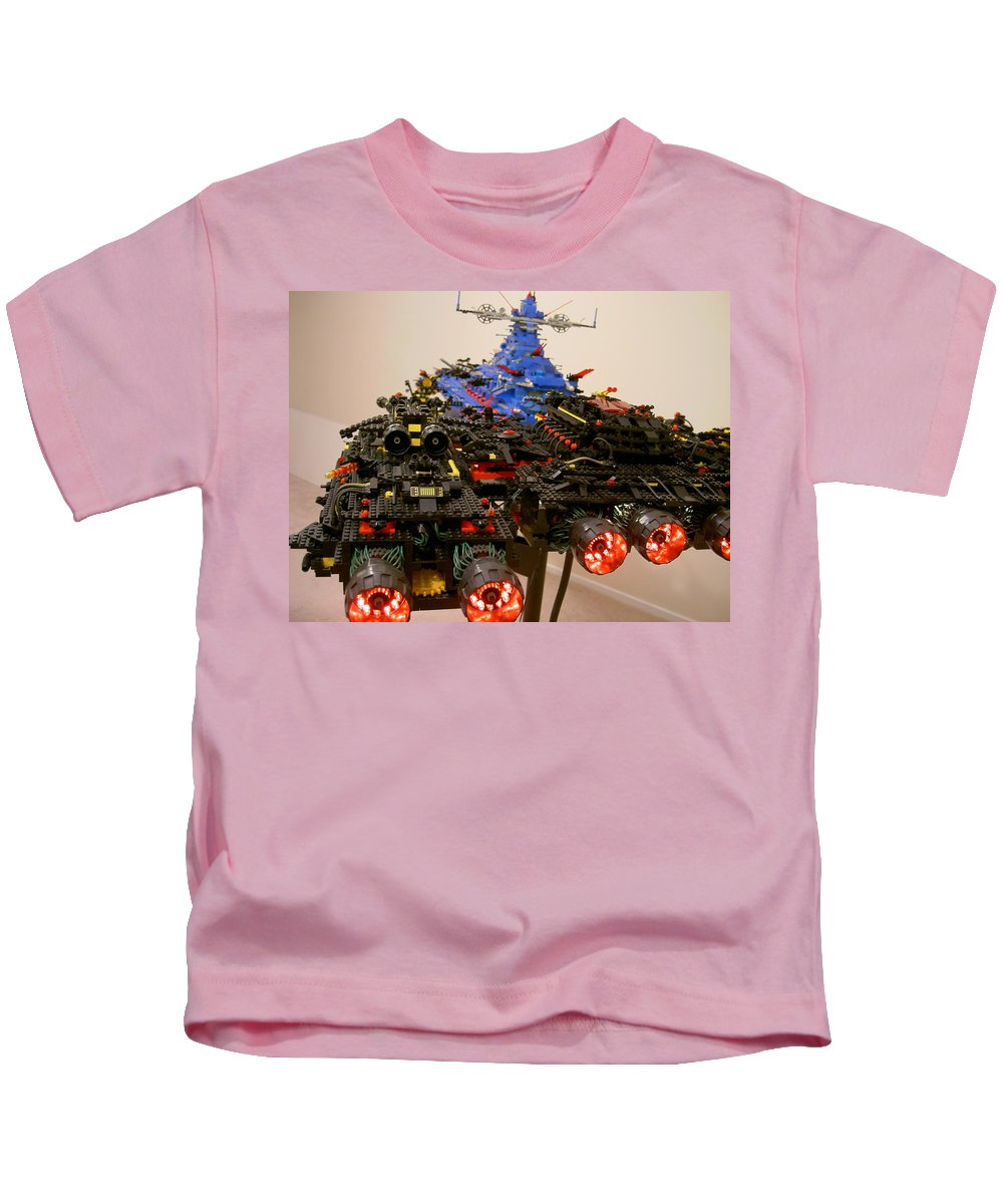 Legos Kids T-Shirt featuring the photograph Dynonochus Stern 1 by Zac AlleyWalker Lowing
