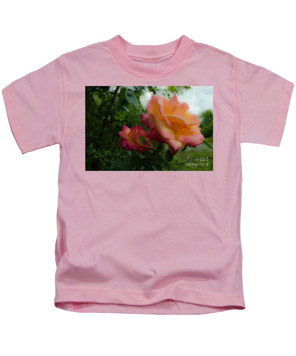 Flower Kids T-Shirt featuring the photograph God's Roses by Donna Brown