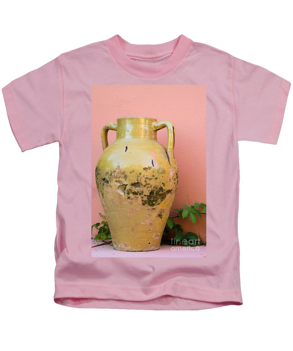 Pot Kids T-Shirt featuring the photograph I Will Survive by Brian Raggatt