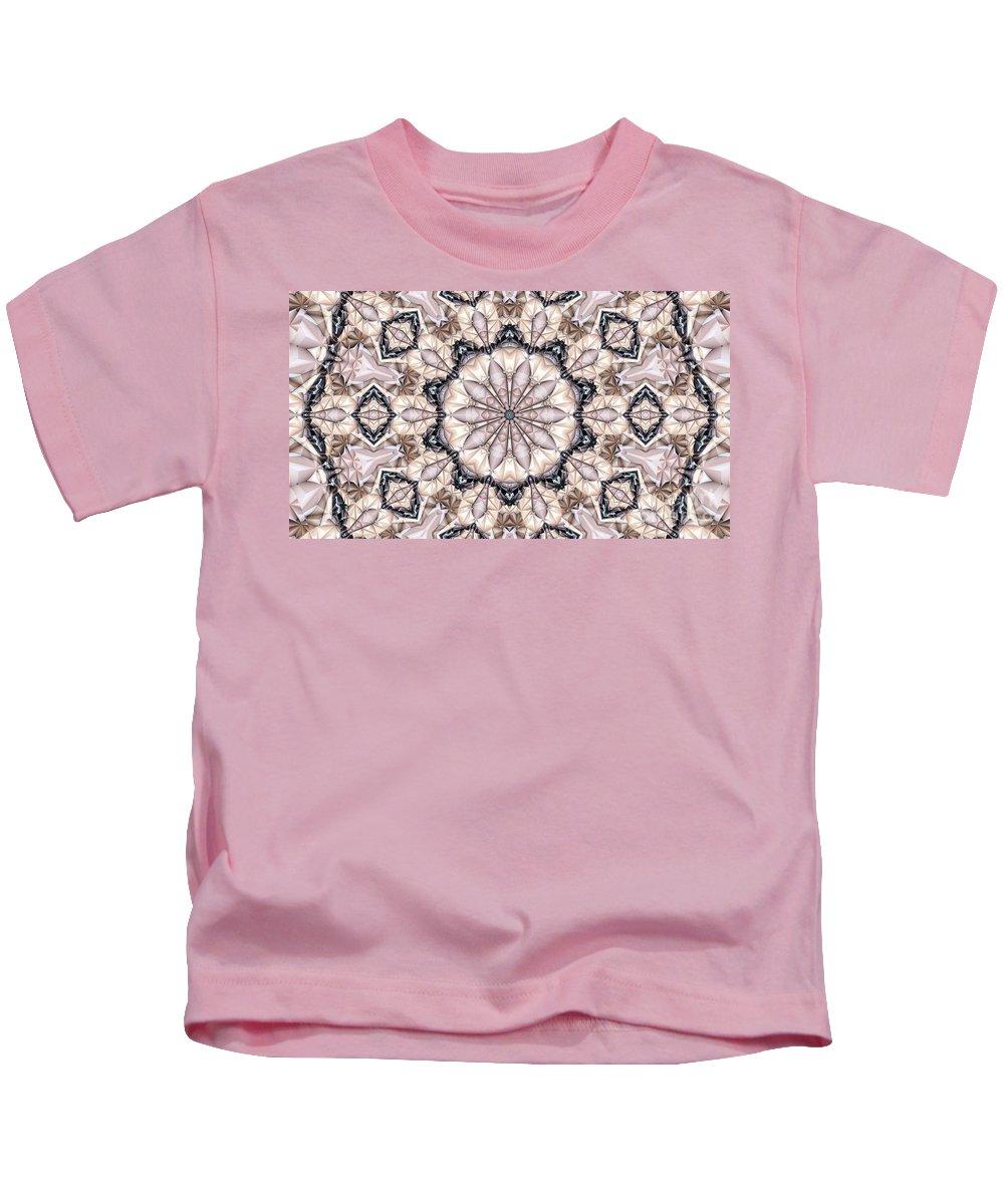 Kaleidoscope Kids T-Shirt featuring the photograph Kaleidoscope 21 by Ron Bissett