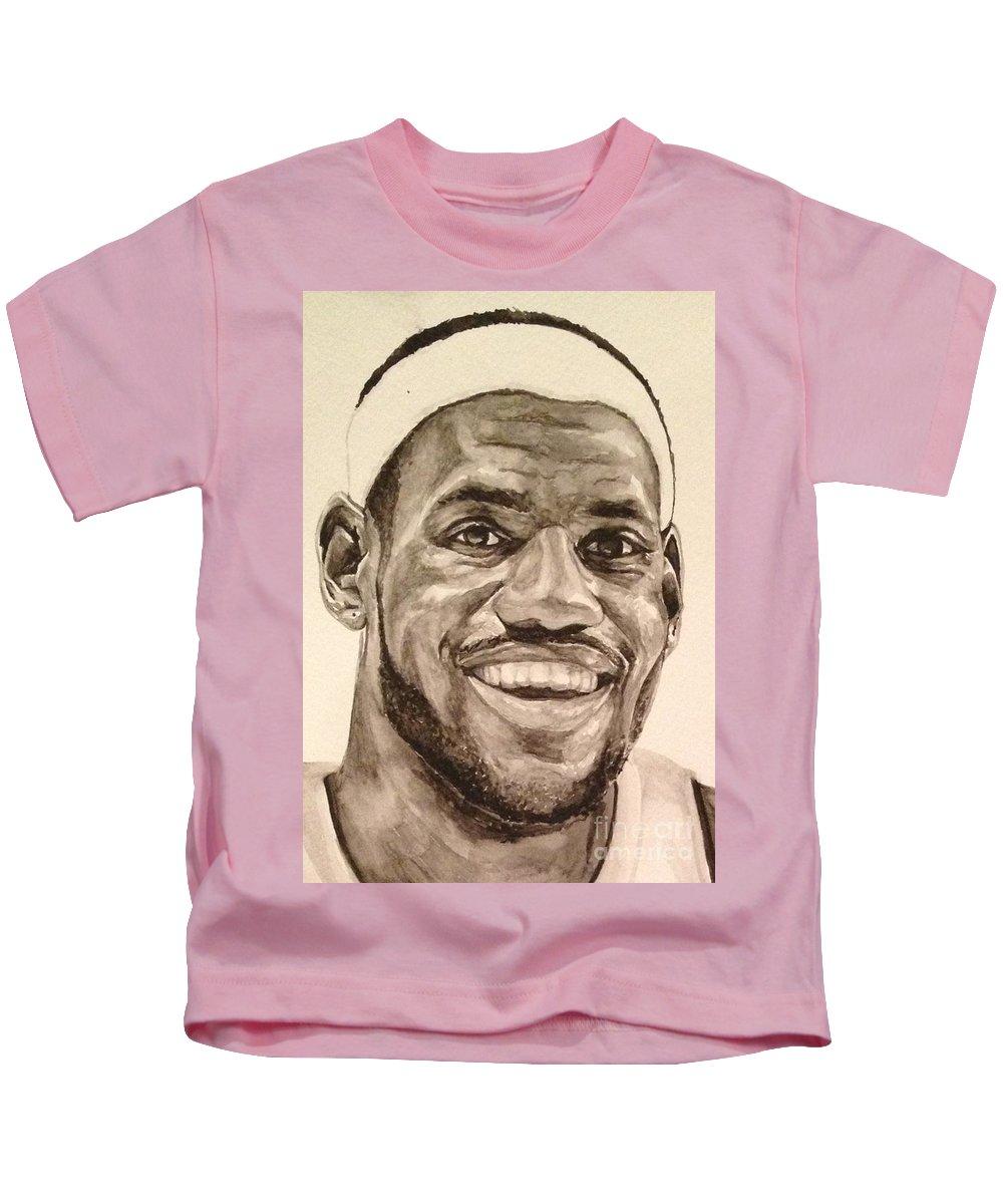 pretty nice 774af 0b415 Lebron James Kids T-Shirt