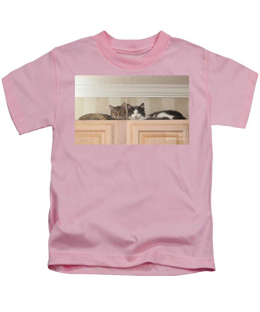 Cat Kids T-Shirt featuring the photograph Love Cats by Michelle Powell