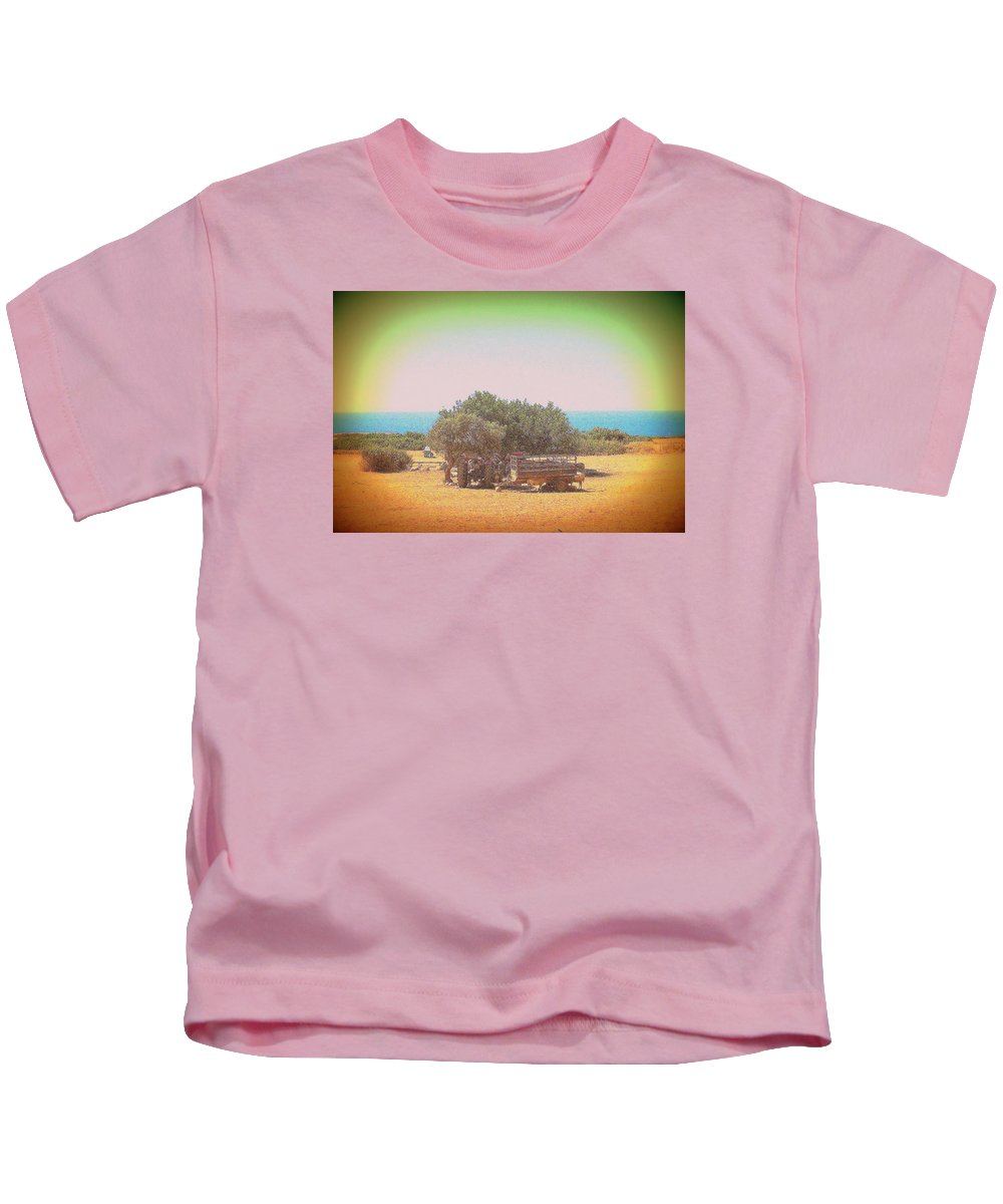 Summer Kids T-Shirt featuring the photograph Sometimes We Need To Take A Really Long Lunch Break by Hilde Widerberg