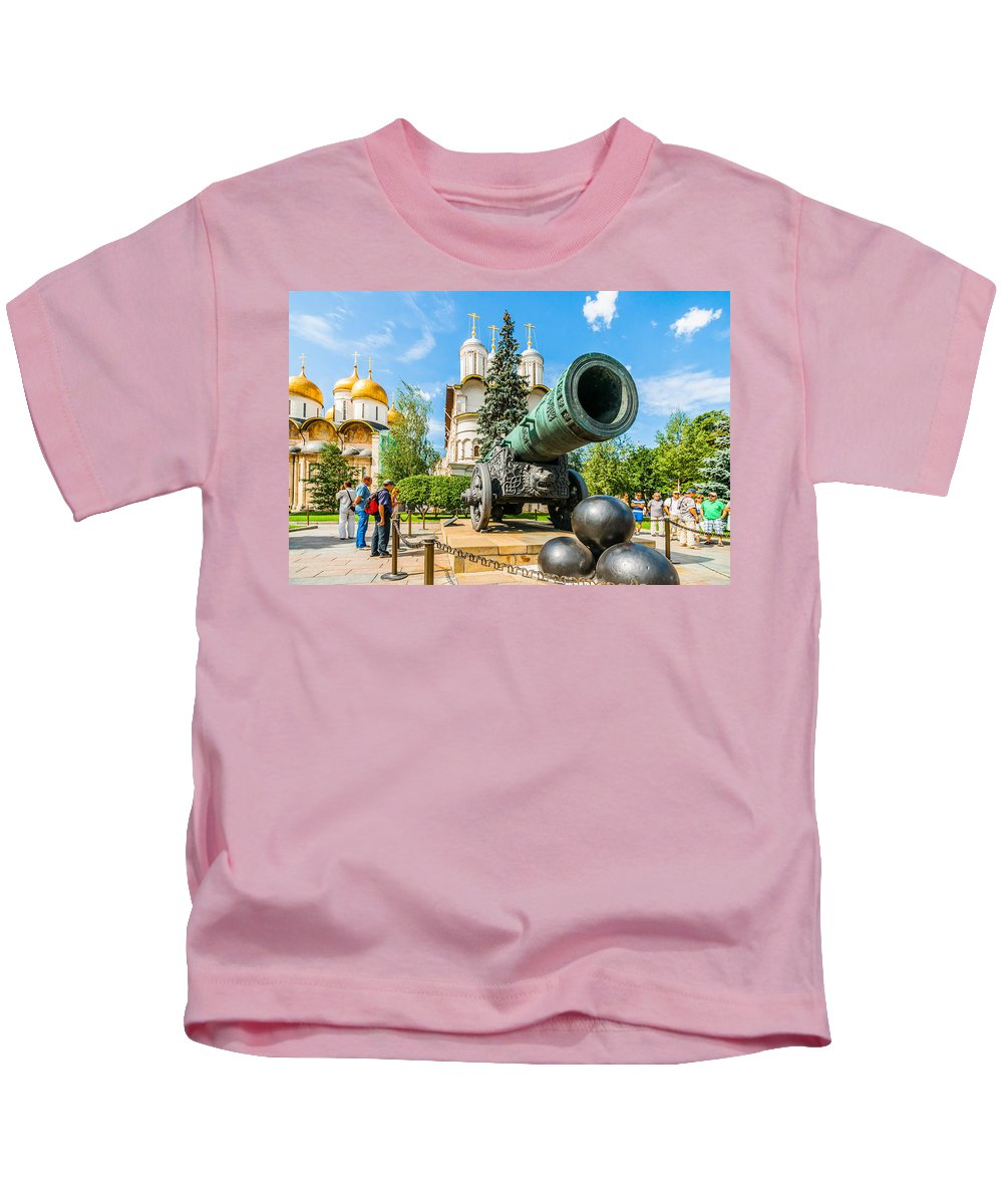 Moscow Kids T-Shirt featuring the photograph Moscow Kremlin Tour - 67 Of 70 by Alexander Senin