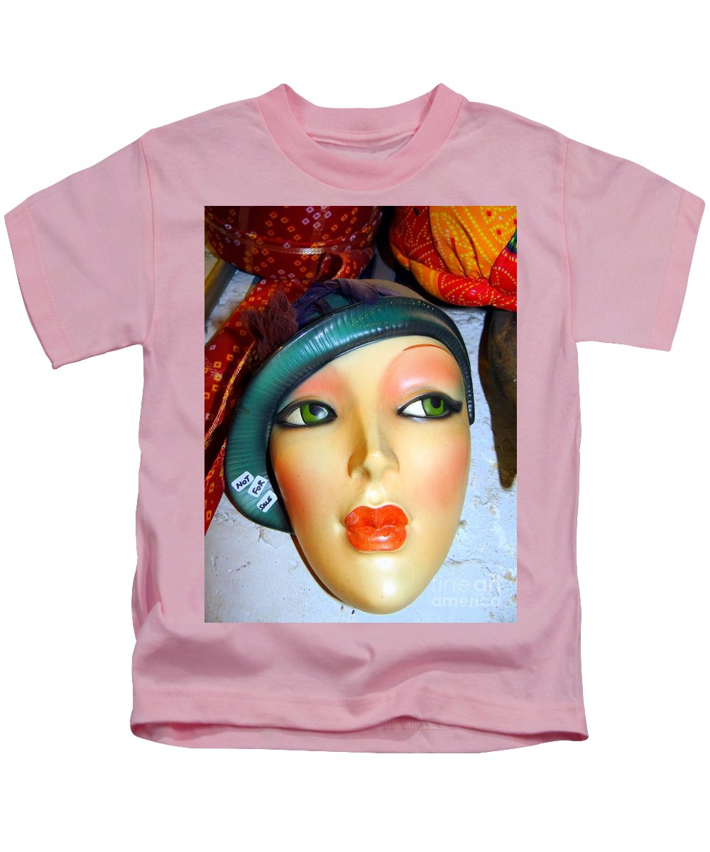 Hats Kids T-Shirt featuring the photograph Not For Sale by Ed Weidman