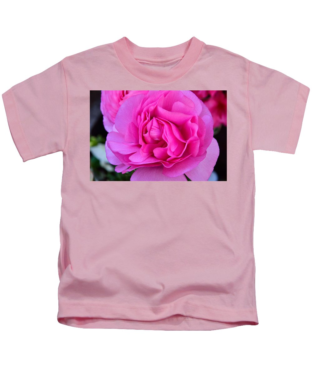 Pink Kids T-Shirt featuring the photograph Pink Blossom by William Jobes