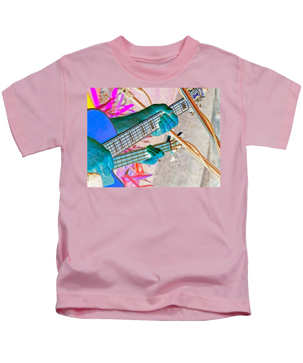 Blues Kids T-Shirt featuring the photograph Play It Again Sam by Marilyn Holkham