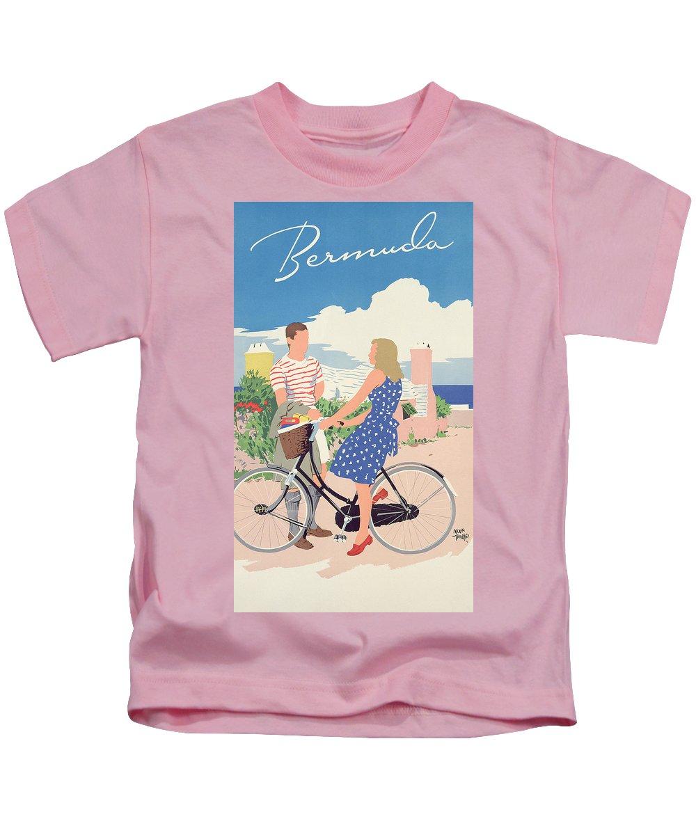 Bermuda Drawings Kids T-Shirts