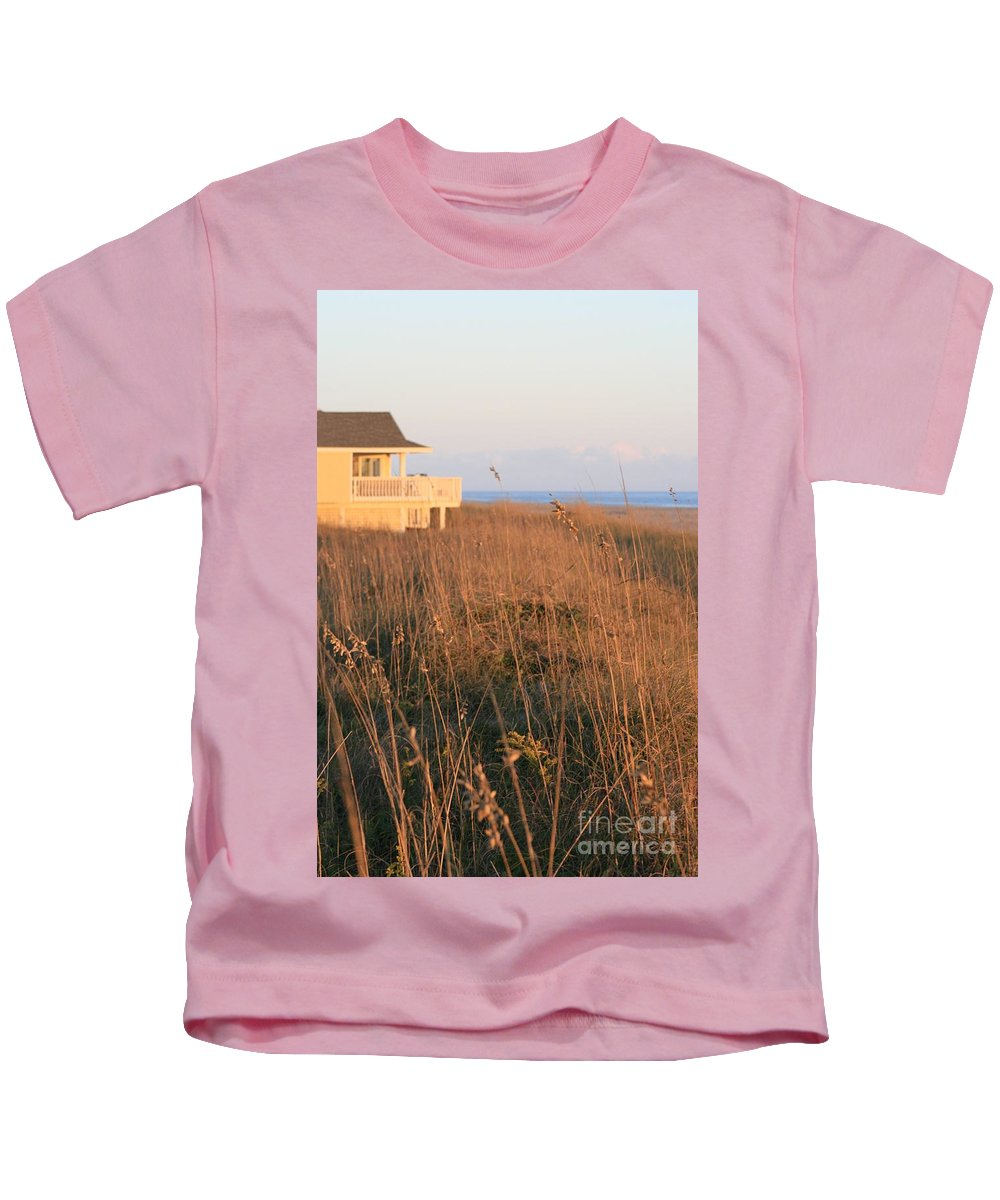 Relaxation Kids T-Shirt featuring the photograph Relaxation by Nadine Rippelmeyer