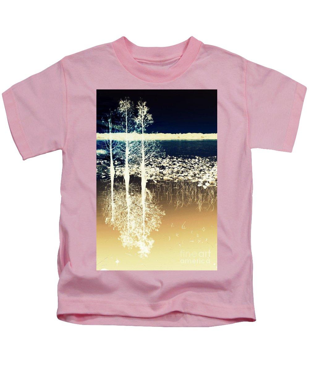 Trees Kids T-Shirt featuring the digital art Roots by Irina Davis