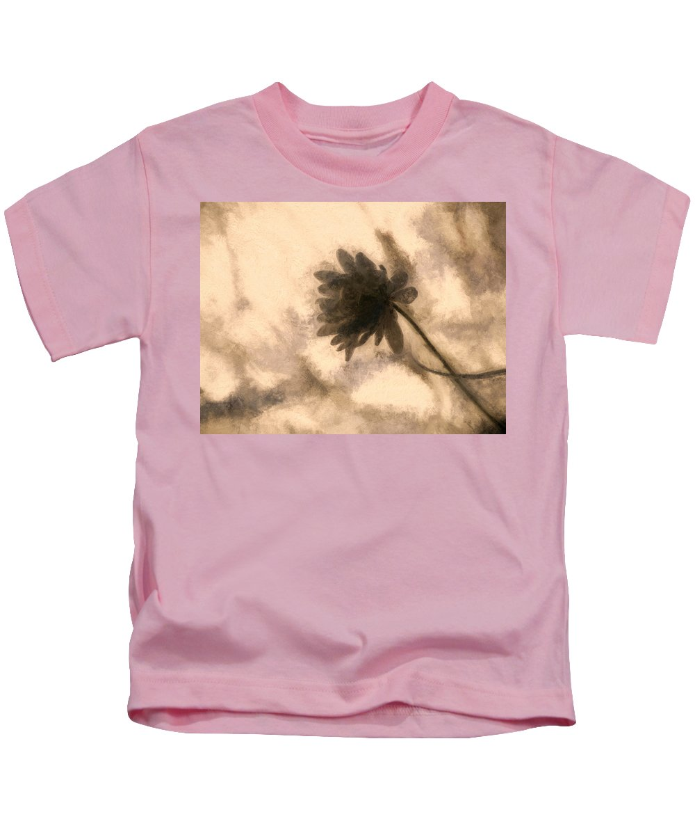 Flower Kids T-Shirt featuring the photograph Simple Thoughts by Tina Baxter