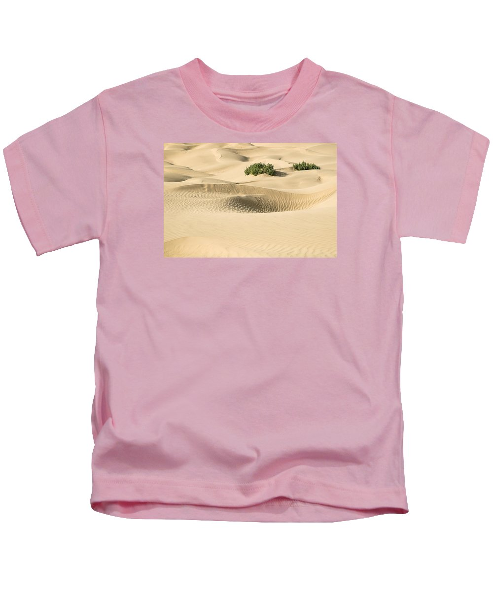 Smooth Kids T-Shirt featuring the photograph Skn 1408 The Smooth Dunes by Sunil Kapadia