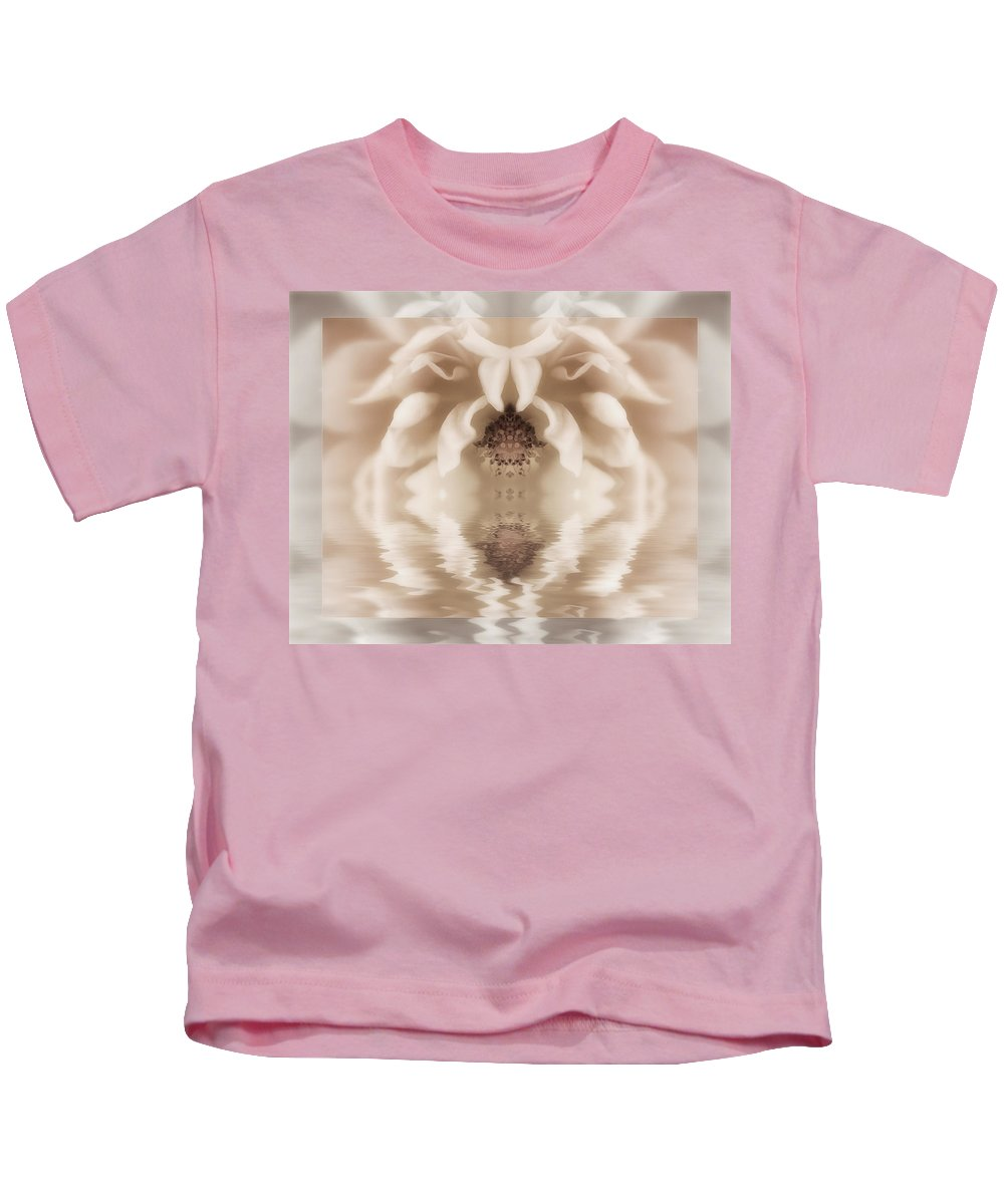 Fantasy Kids T-Shirt featuring the digital art Soft Fantasy by Diane Dugas
