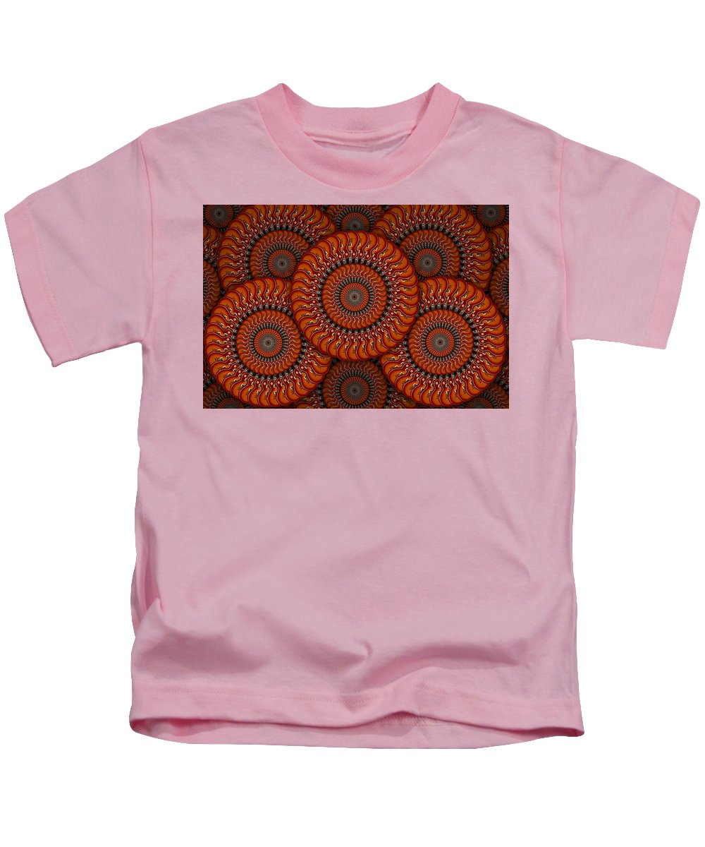 Abstract Guitars Kids T-Shirt featuring the photograph Spinning Guitars 2 by Mike McGlothlen