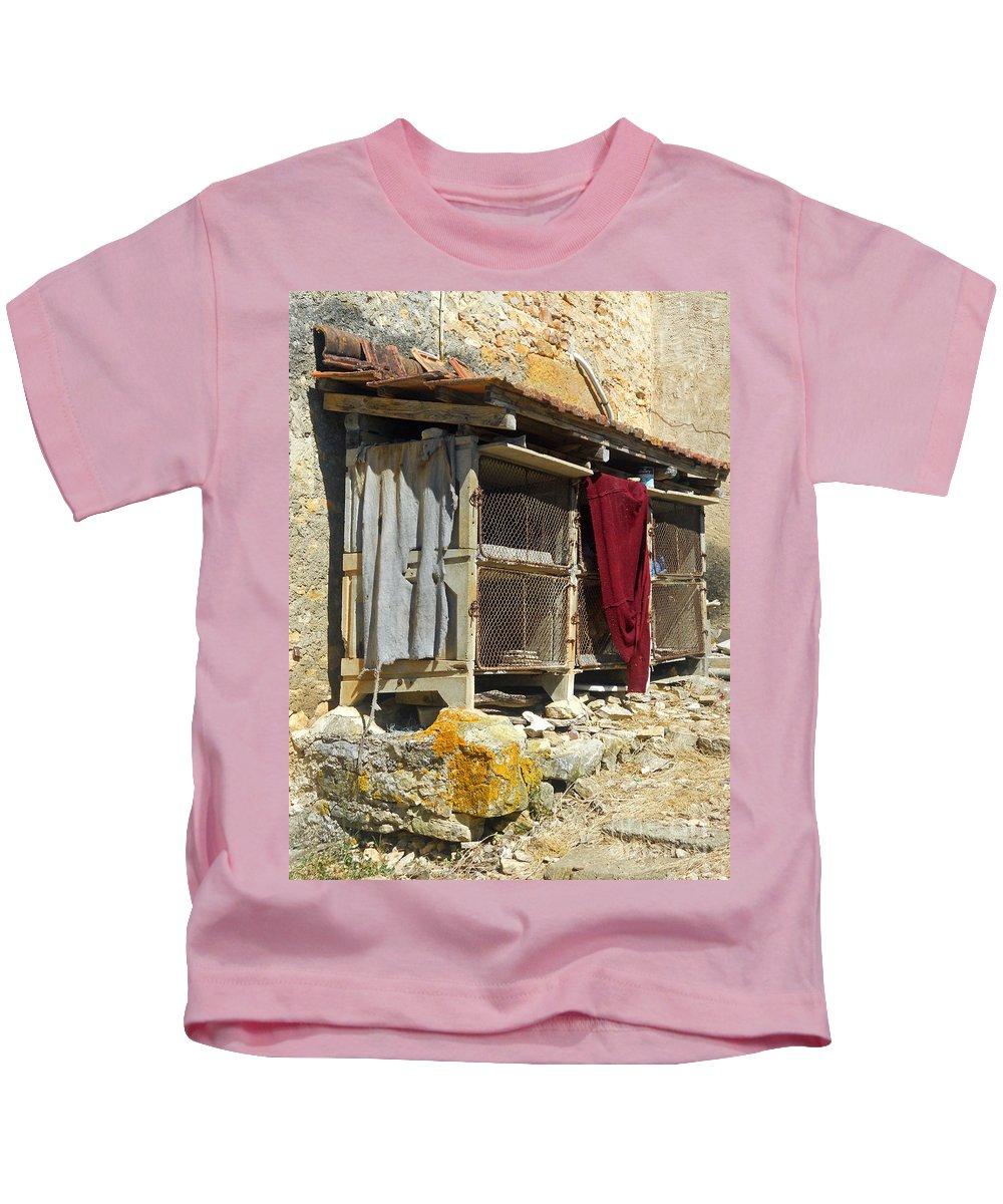 Still Life Kids T-Shirt featuring the photograph The Coop by Lauren Leigh Hunter Fine Art Photography
