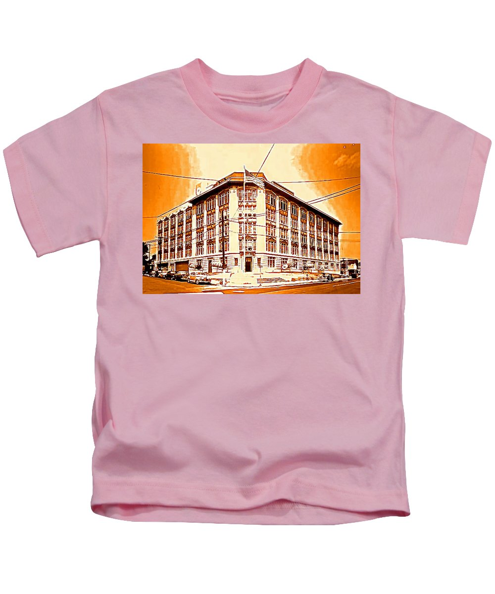 Life Saver Kids T-Shirt featuring the photograph The Life Saver Building by Christy Gendalia
