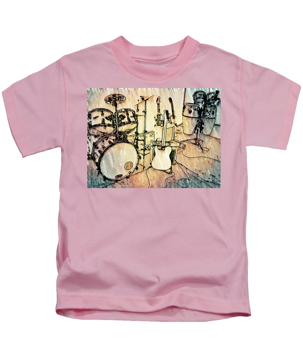 Stage Kids T-Shirt featuring the photograph The Stage by Chris Berry