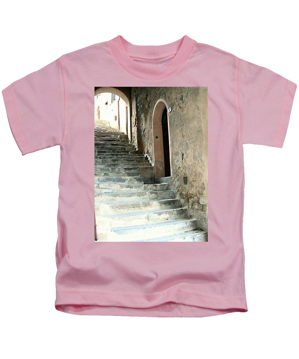 Time-worn Passage Kids T-Shirt featuring the photograph Time-worn Passage by Ellen Henneke
