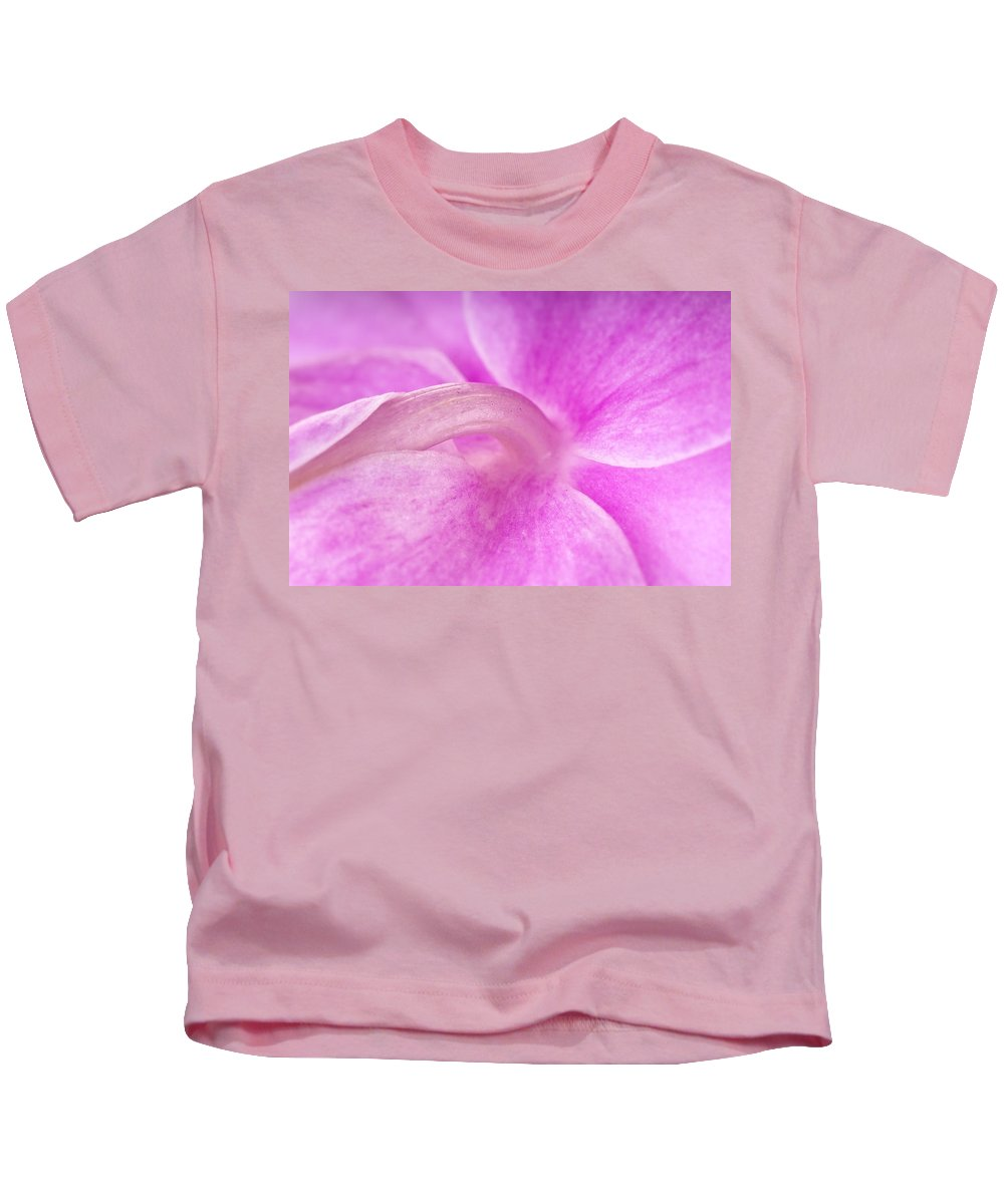 Orchid Kids T-Shirt featuring the photograph Under An Orchid by Onyonet Photo Studios