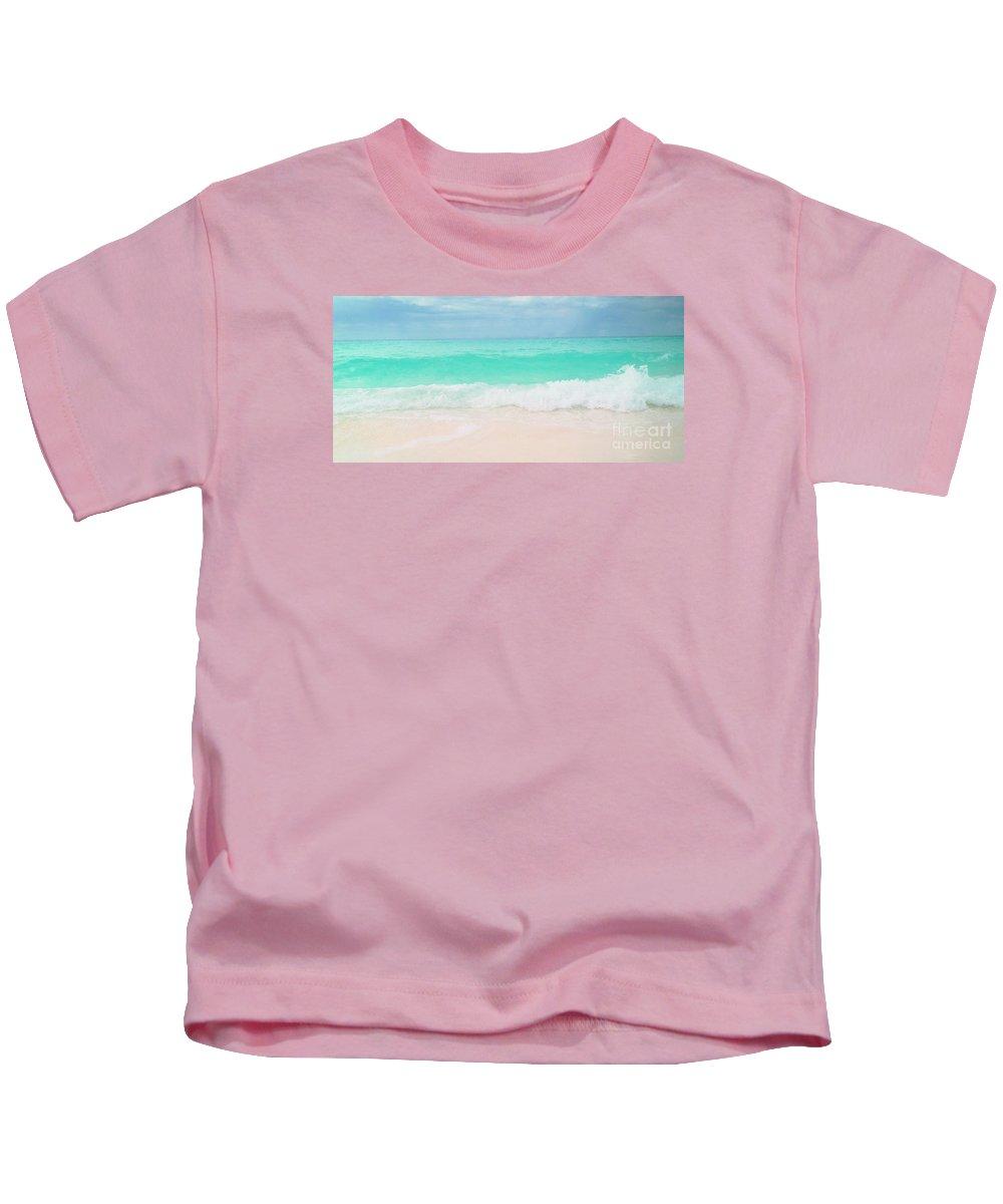 Beach Kids T-Shirt featuring the photograph Vitamin Sea by Tina Wimberley