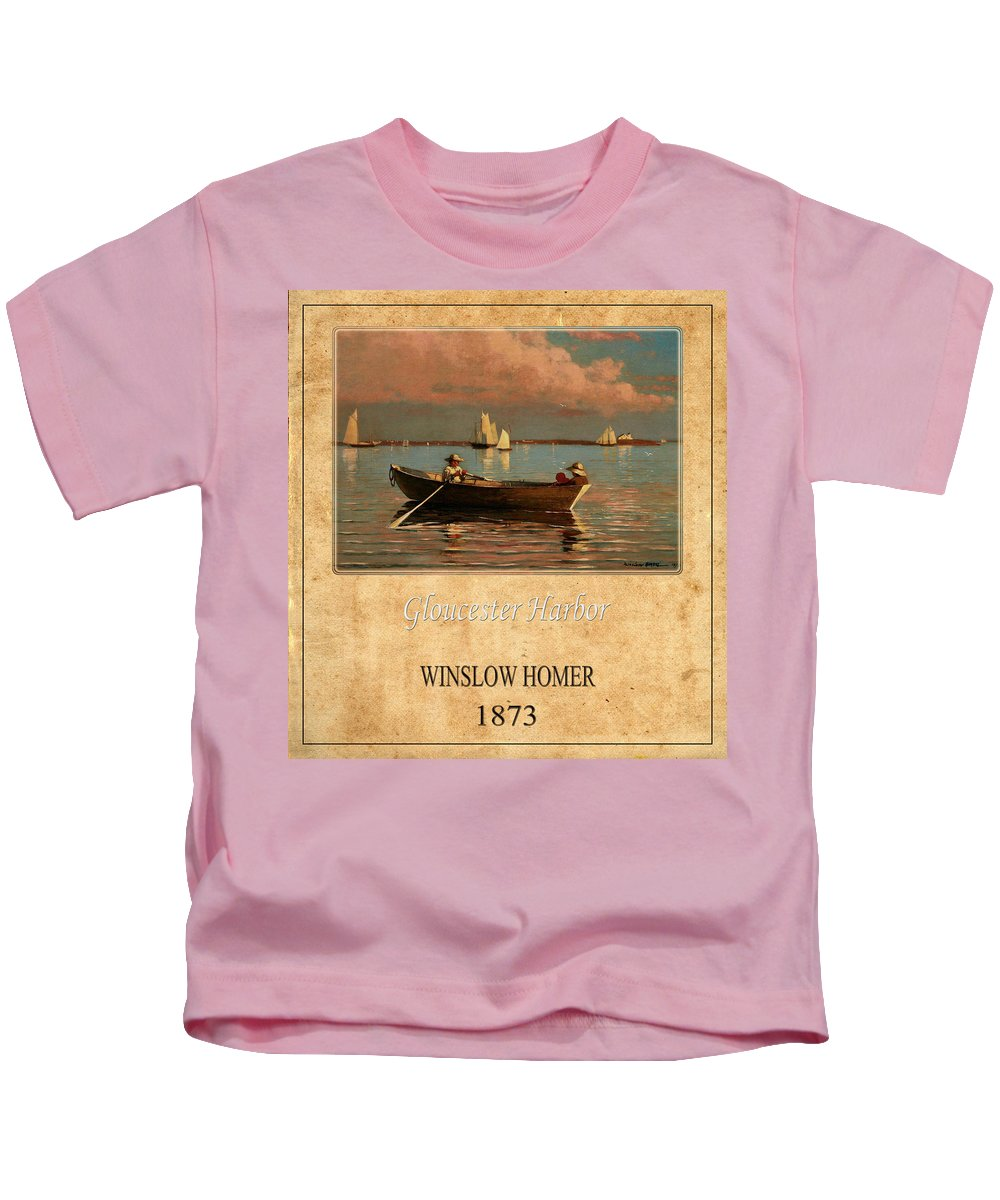 Homer Kids T-Shirt featuring the photograph Winslow Homer 1 by Andrew Fare
