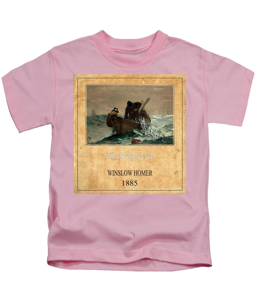Homer Kids T-Shirt featuring the photograph Winslow Homer 2 by Andrew Fare
