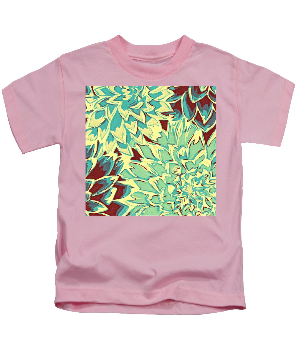 Flowers Kids T-Shirt featuring the photograph Abstract Flowers 15 by Sumit Mehndiratta